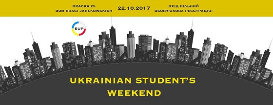 TCF NEWS:  Ukrainian Student's Weekend